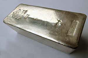 5 kg Silver bar