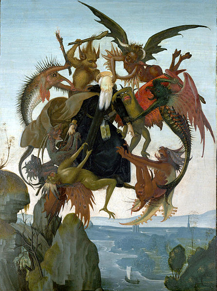 Michealangelo's First Painting - The Torment of St. Anthony