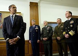 (Jan. 28, 2009)President Barack Obama, with Ge...