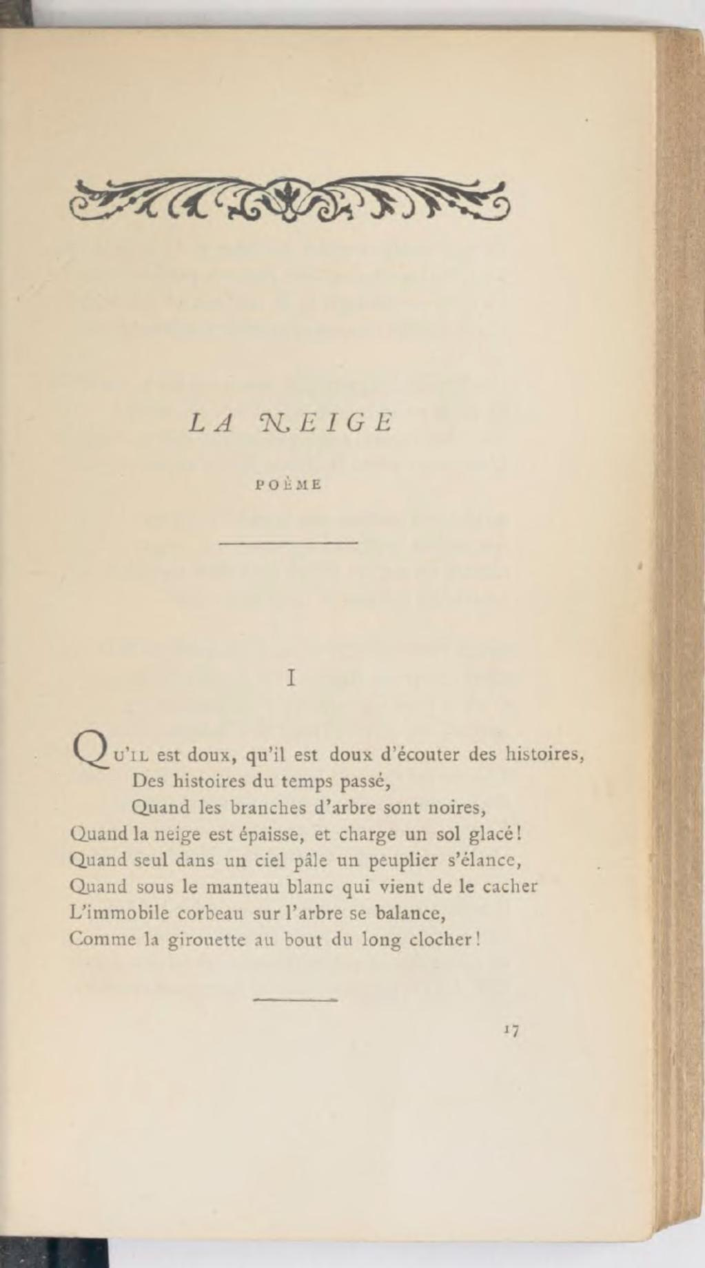 Qu Est Ce Qui Est Doux : Page:Vigny, Œuvres, Complètes,, Poésies,, Lemerre,, 1883.djvu/147, Wikisource
