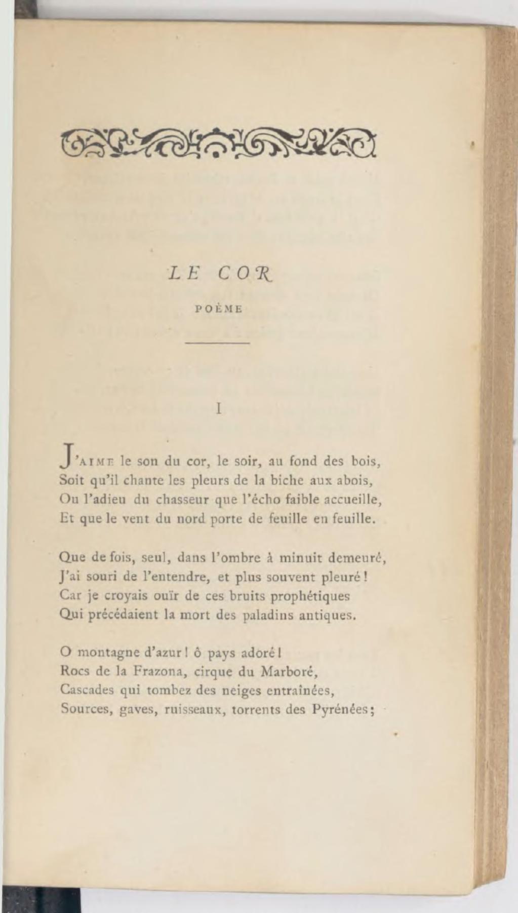 Le Cor - Poetes.com