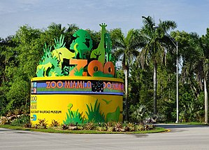 English: Entrance to Zoo Miami