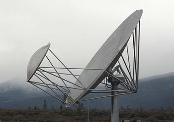 Offset Gregorian antenna used in the Allen Tel...