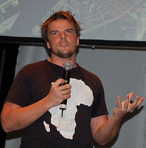 English: Bjarke Ingels at Helsinki Design Week...