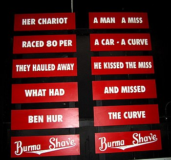 Burma-Shave slogans