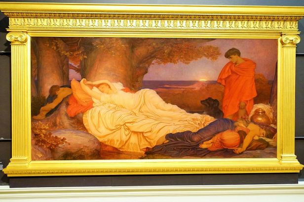 Cymon and Iphigenia Painting in Frame