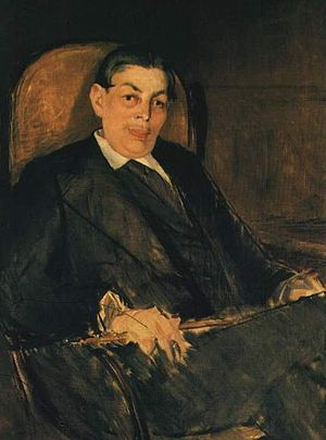 Edouard Manet Albert Wolff