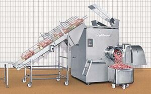 Frozen meat grinder GW 300.