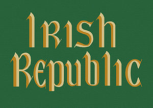 "The ""Irish Republic"" flag. Now on di..."