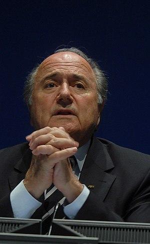 """Joseph """"Sepp"""" Blatter, President of FIFA"""