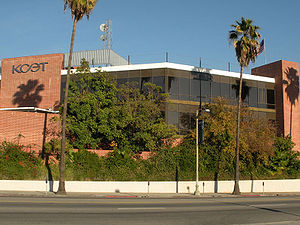 KCET PBS TV Station in Southern California