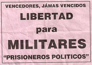 English: ¡ Español: Chile: Panfleto que exige ...