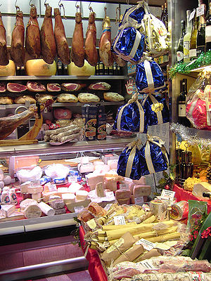 Italian deli in Rome