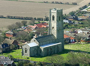 English: Saint Mary's church, Happisburgh, Nor...