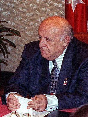 Süleyman Demirel, 9th president of Turkey