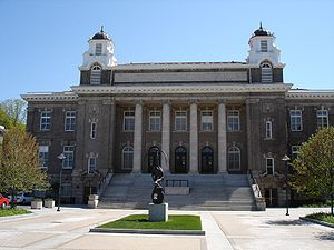 Syracuse University's Carnegie Library. Taken ...
