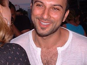 Tarkan in Vienna, 2006, 23 June. Fan meeting.