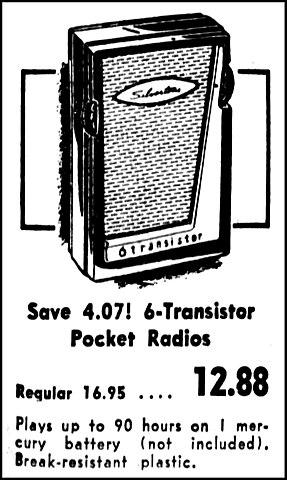 File:Vintage Advertising For Silvertone 6 Transistor