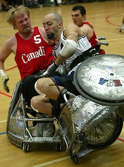 wheelchair olympics medline shower chair rugby wikipedia