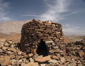 English: World Heritage Grave at Al Ayn / Oman...