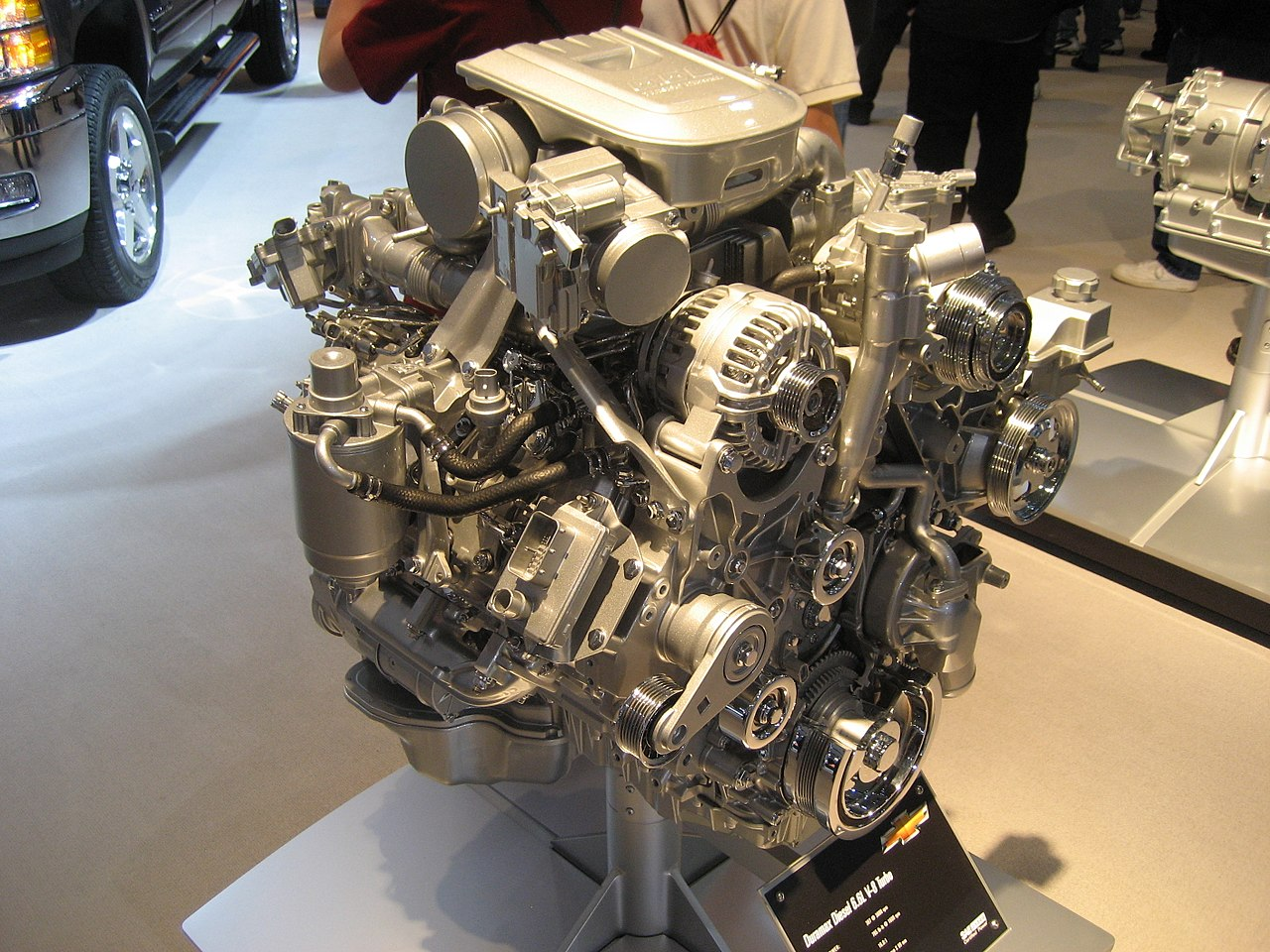 hight resolution of for the 2001 model year general motors finally replaced the detroit diesel 6 2l and 6 5l turbodiesel v8 s they had been using for 20 years with a new 6 6l