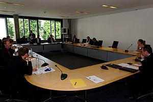 Deutsch: Fraktionssitzung der FDP-Landtagsfrak...