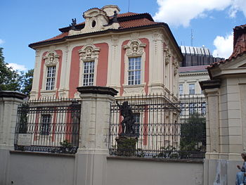 Dvorak museum, Prague