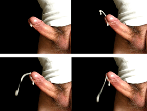 Ejaculation example