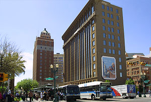 English: Downtown El Paso, Texas, taken in Apr...