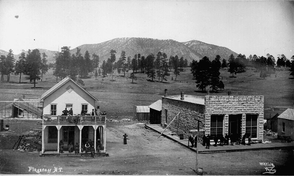 FileFlagstaff AZ ca 1899jpg  Wikipedia