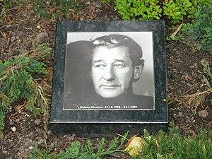Helmut Newtons grave at Friedhof Schoeneberg I...