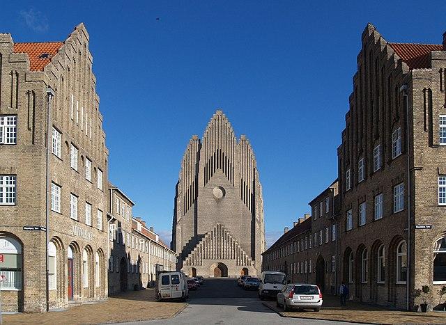 La chiesa di Grundtvig a Copenhagen