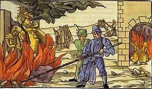 Gravure médiévale