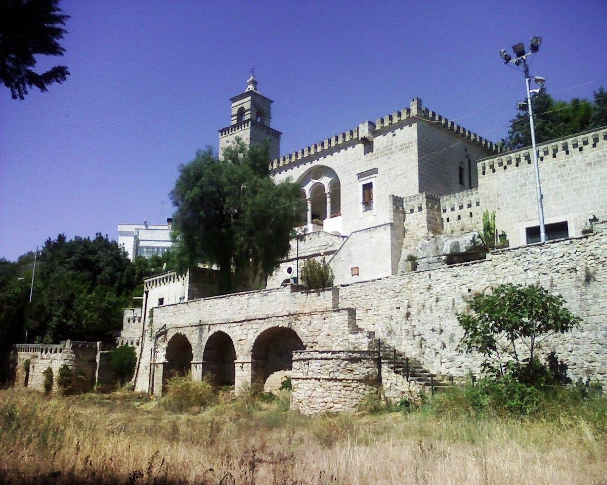 Santuario di Santa Maria della Grotta  Wikipedia