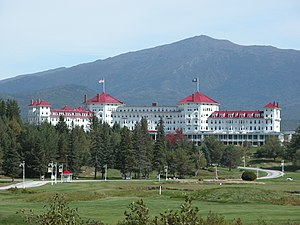 Mount Washington Hotel in New Hampshire/USA in...