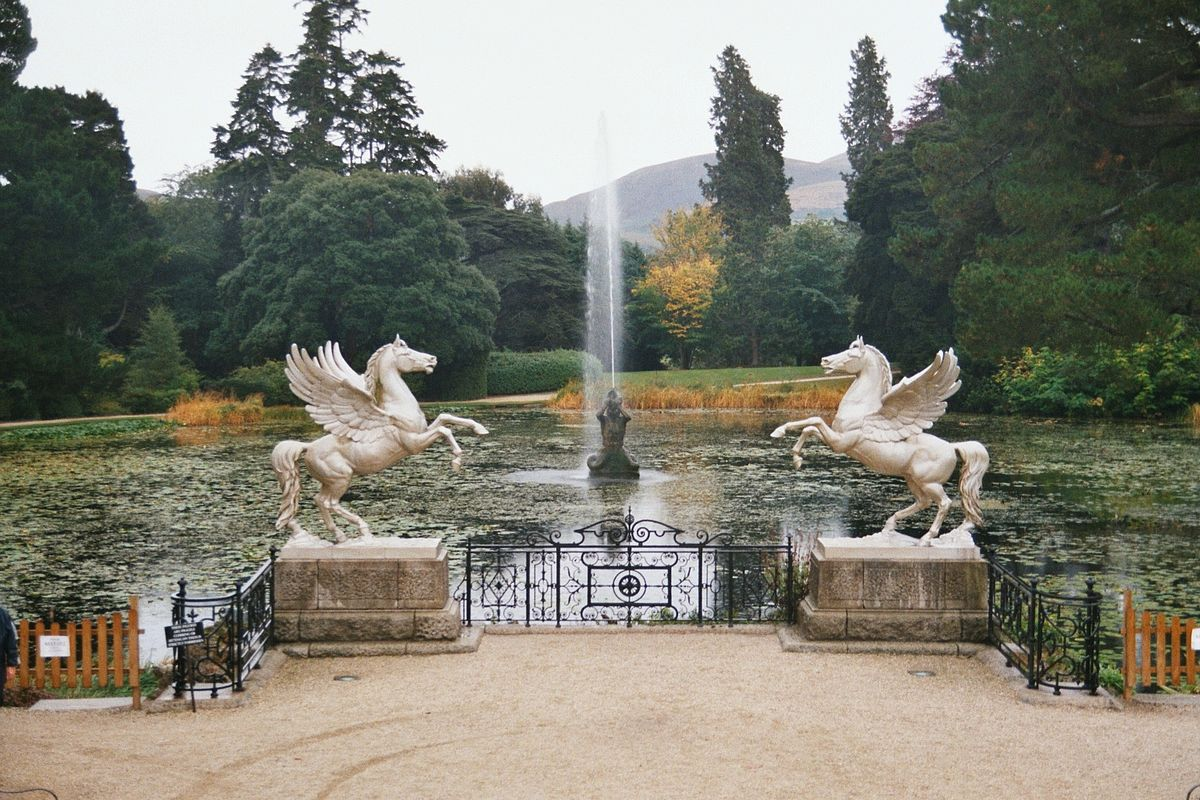 Powerscourt Gardens  Wikipedia