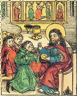 Prester John from Hartmann Schedel's Nuremberg Chronicle, 1493