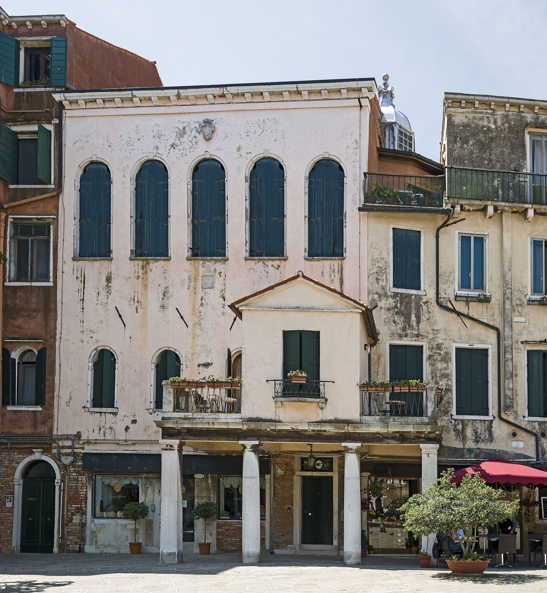 Italian Synagogue Venice  Wikipedia