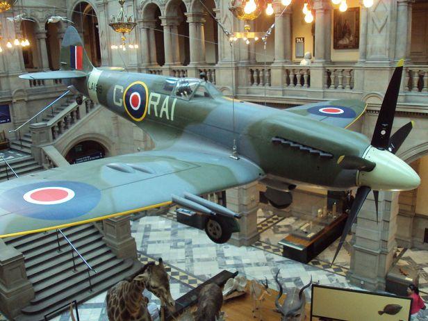 Spitfire, Kelvingrove Museum, Glasgow