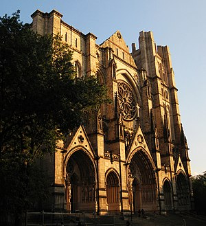 English: Cathedral of Saint John the Divine, N...