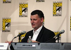 Steven Moffat at Comic Con 2008
