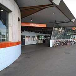 Corrugated Steel Chair Rail Benchmaster And Ottoman Sydenham Railway Station Sydney Wikipedia 20171004 02 Jpg