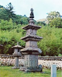 Korean Pagodas Temple
