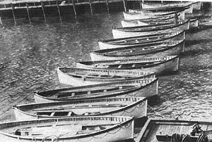 "Lifeboats of the vessel ""Titanic"" Ti..."