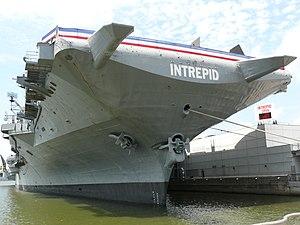 USS Intrepid (CV/CVA/CVS-11), also known as Th...