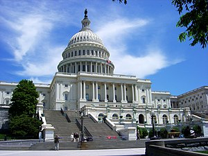 The United States Capitol in Washington, D.C..