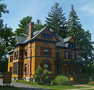 English: Verbeck House, Ballston Spa, NY, USA