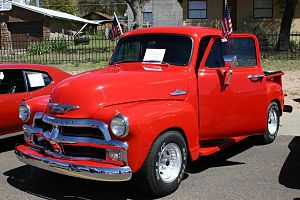 English: First Series 1955 Chevrolet 3100 Pick...