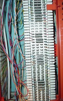 110 Punch Down Block Wiring Diagram 66 Block Wikipedia