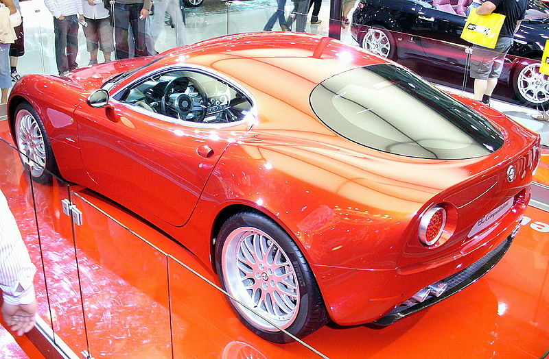 Autos Unicos Alfa Romeo 8C Competizione